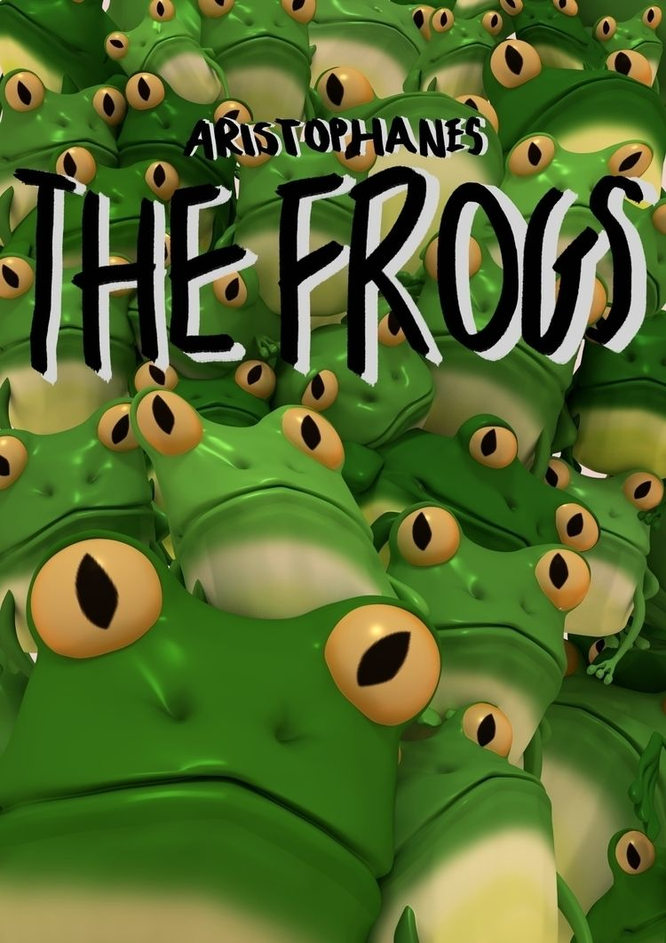 Aristophanes' Frogs - 3D modell - amber_seychell | ello
