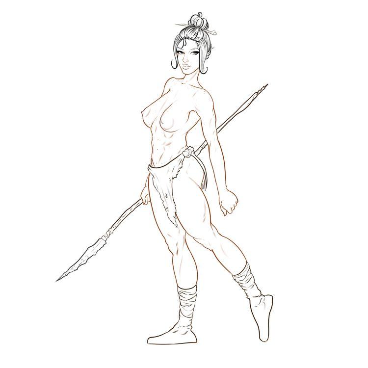 Digital sketch commission - drawing - tamhutart   ello