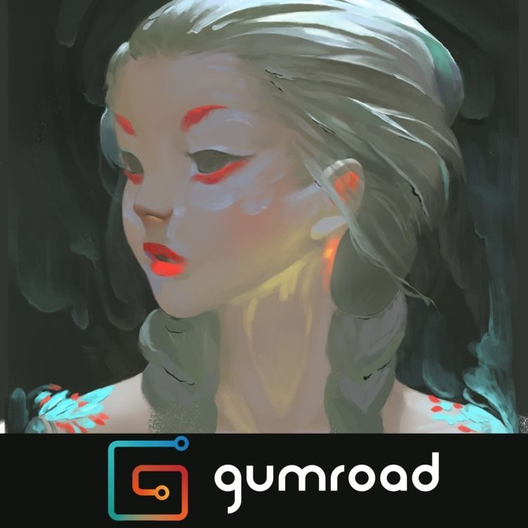 Digital Painting - Zeen Chin. t - toko_suzuki | ello