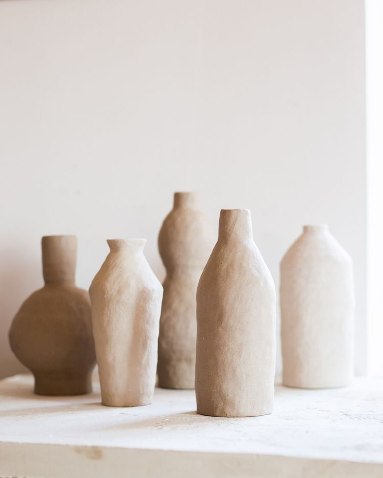 earthenware vessels, drying stu - irynagarkusha | ello