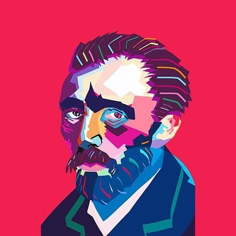 Wpap Van Gogh - vangogh, illustration - lmona   ello