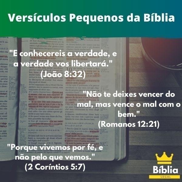 Uma Série de versículos da bíbl - biblialegal | ello