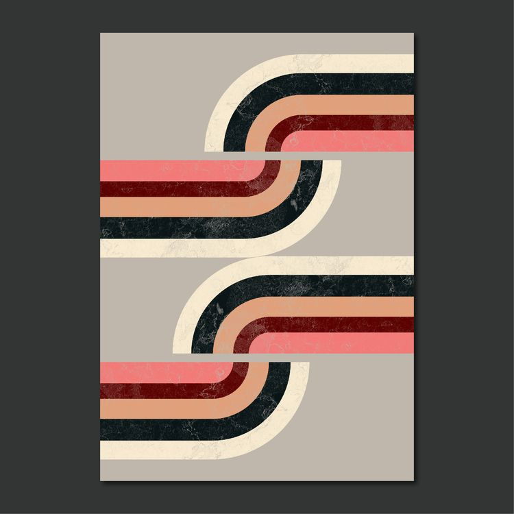 ROUTE - digital, geometric, illustration - susanapaz | ello