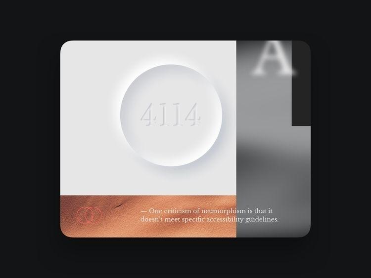 Neumorphism + - digital, UI, neumorphism - danilora | ello