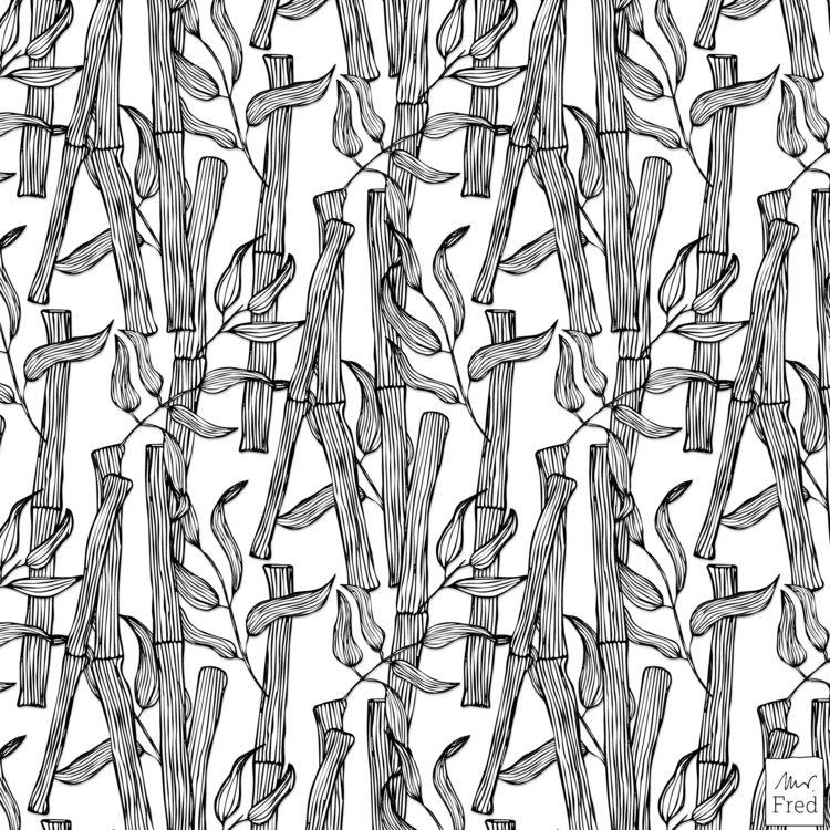 boyfriend asked bamboo pattern  - mister_fred_berlin   ello