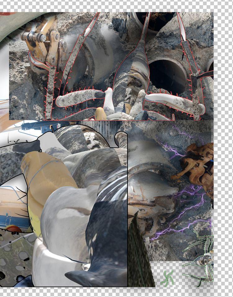 familiar vision - digital, 3d, abstract - escapescapes | ello