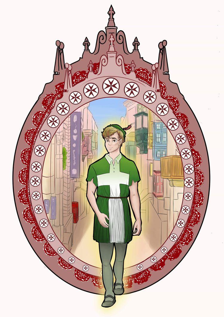 Peter Pan walked streets ye old - celine_zarb | ello