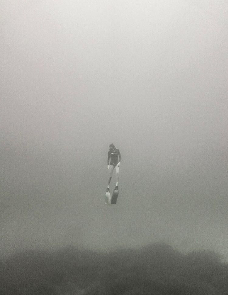 freediving, blackandwhite, ocean - julian__clarke   ello