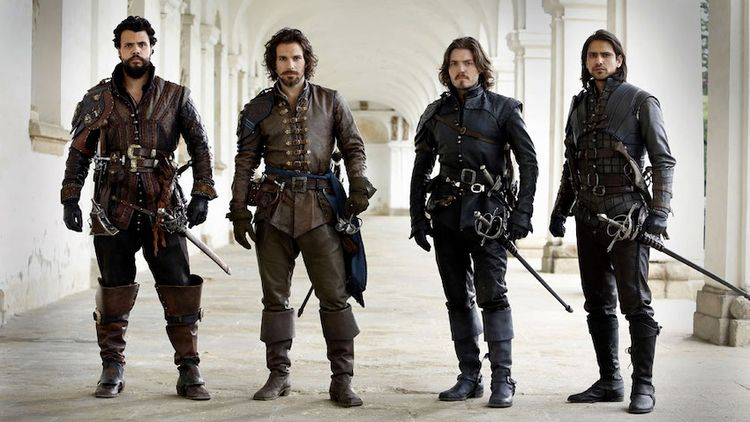 season BBC series Musketeers ex - achilles_shadow | ello