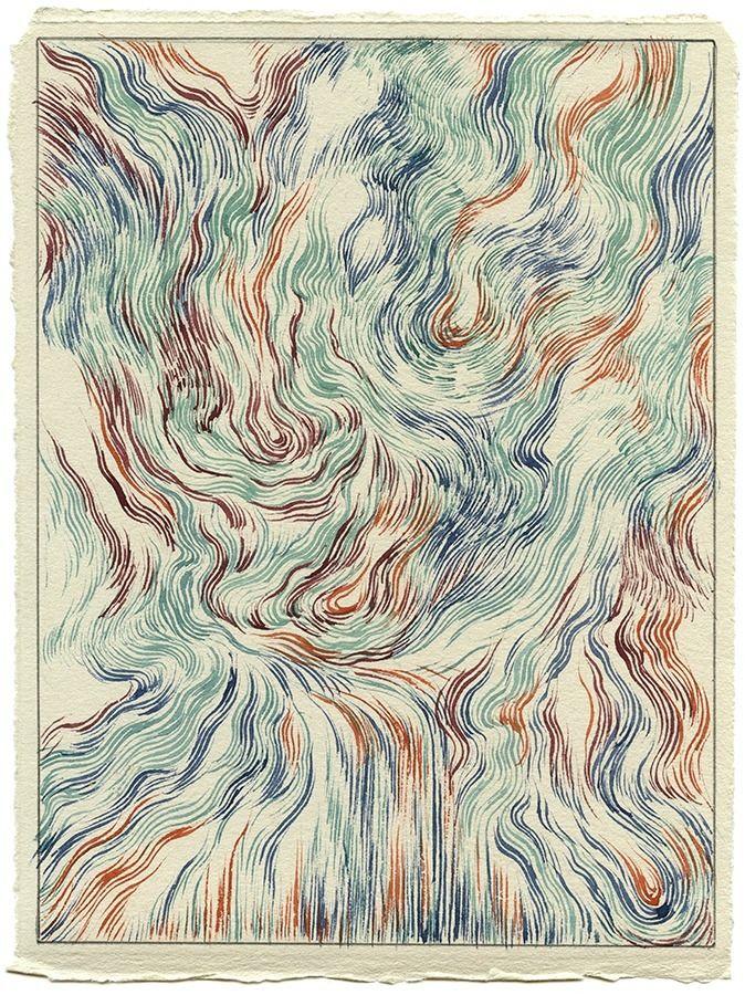 Rip VI Watercolor paper, 6x8 20 - jacobvanloon | ello