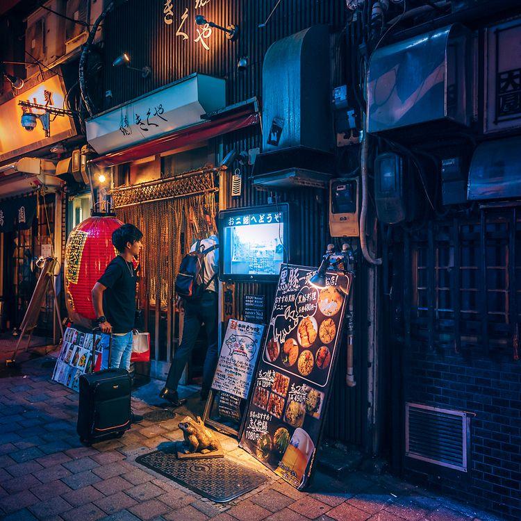 Night II, 2020, Tokyo Japan. ph - anthonypresley   ello