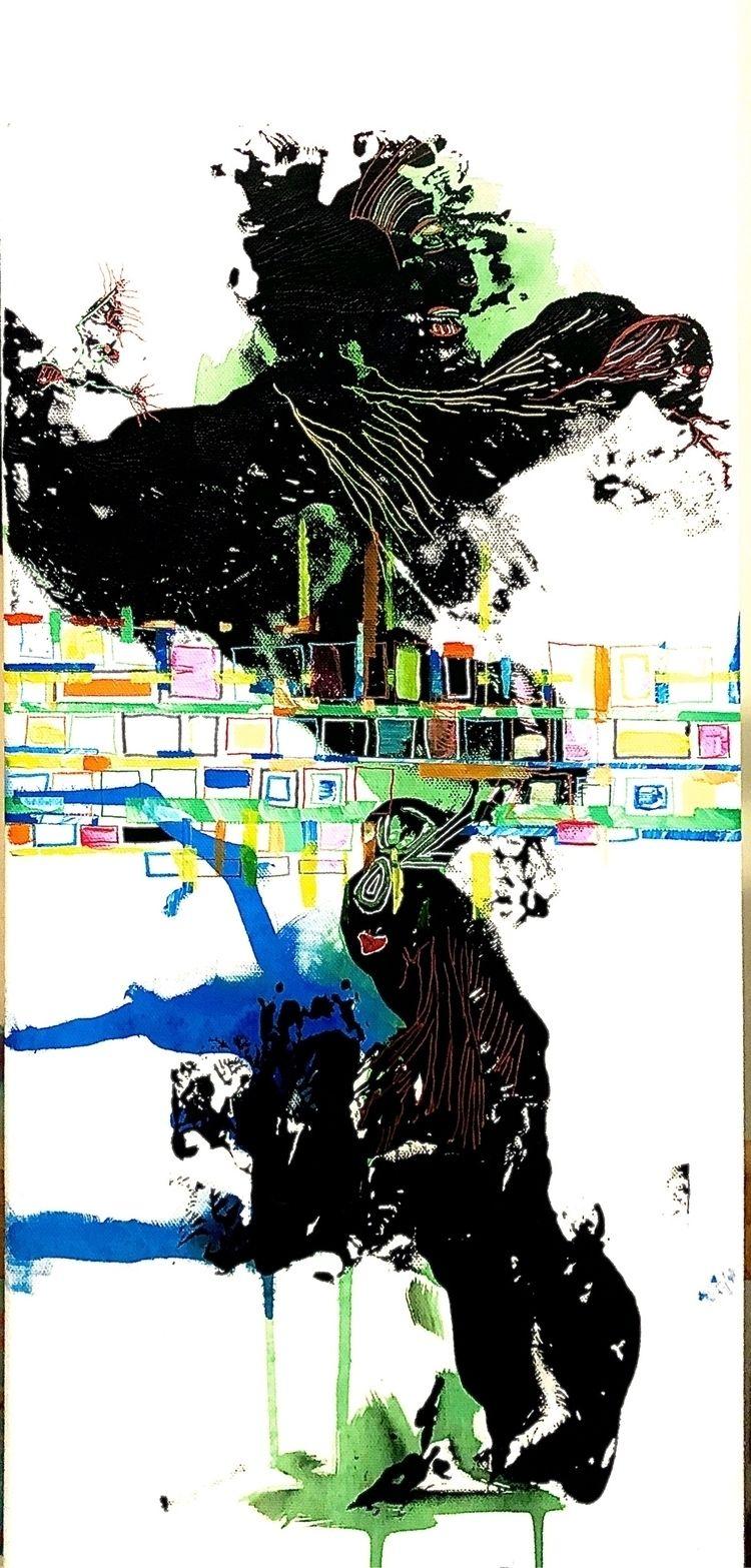 """Strange dance"", acryl canvas 3 - petermoors | ello"