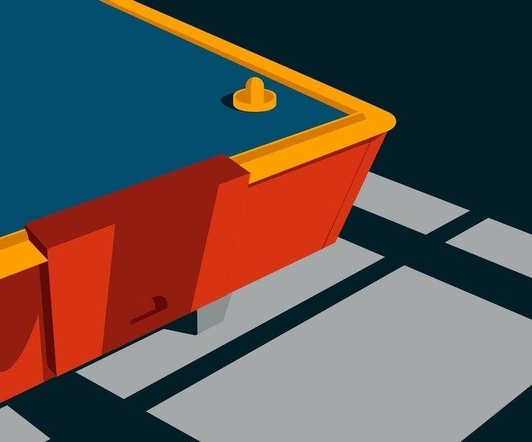 Table games series - Air Hockey - colzanialessio | ello