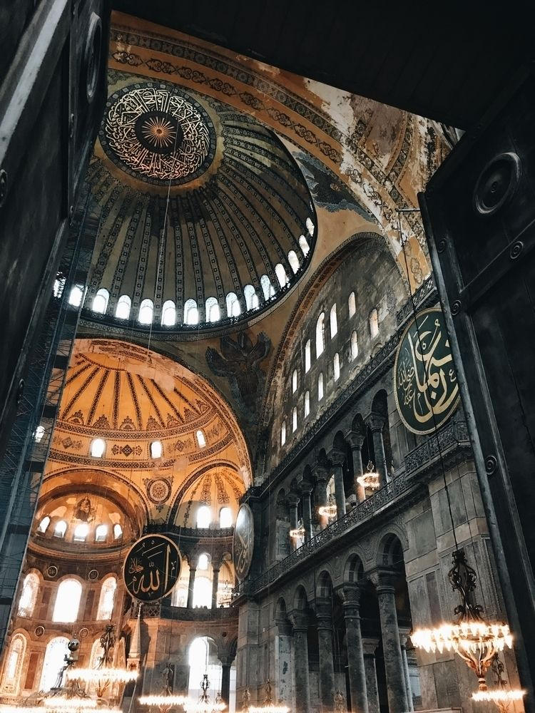 Hagia Sophia, Istanbul 2019 - architecture - koszi | ello