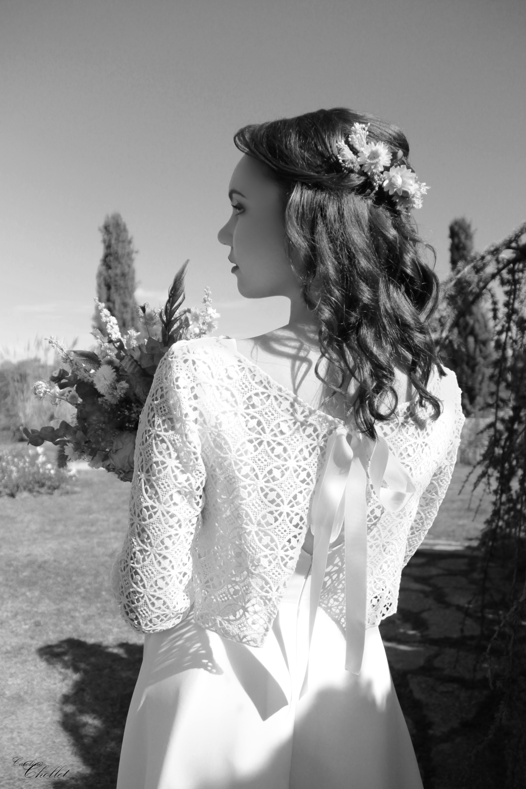 Wedding fashion shooting Model  - linecaro | ello