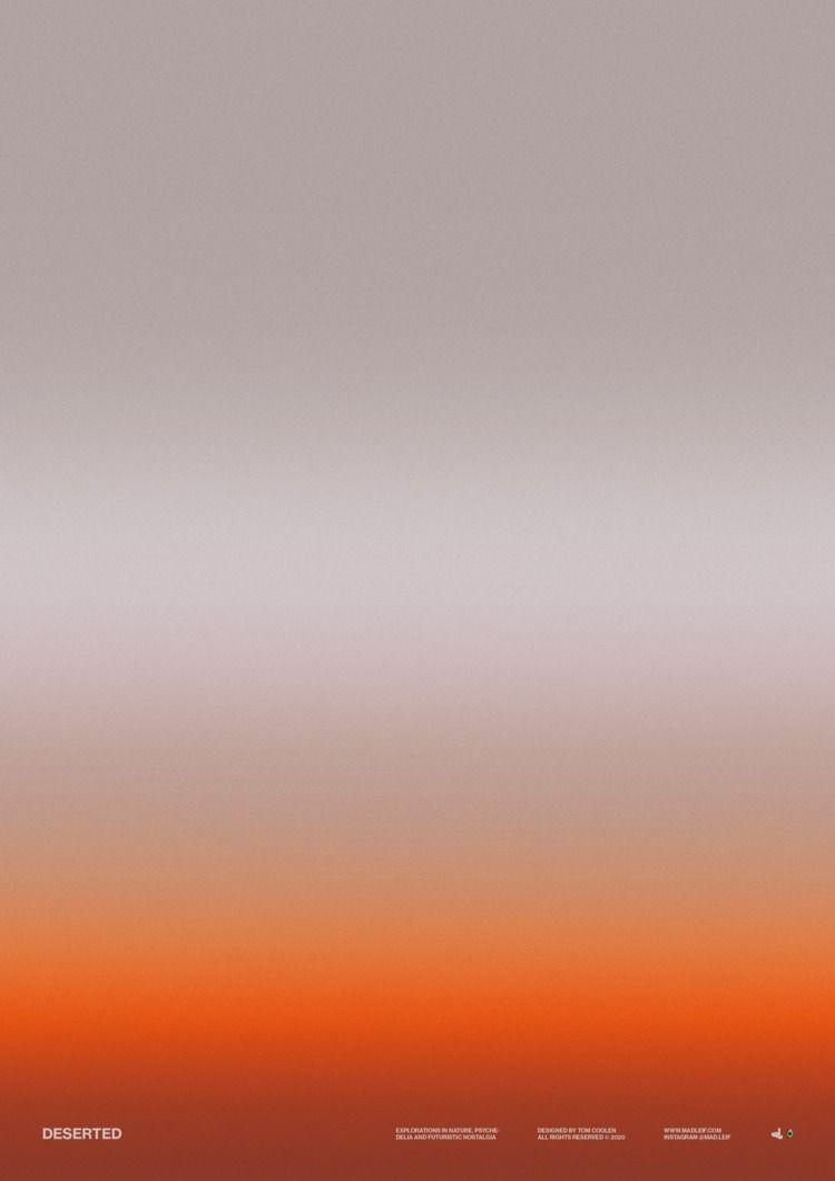 Deserted  - poster, posterdesign - madleif | ello