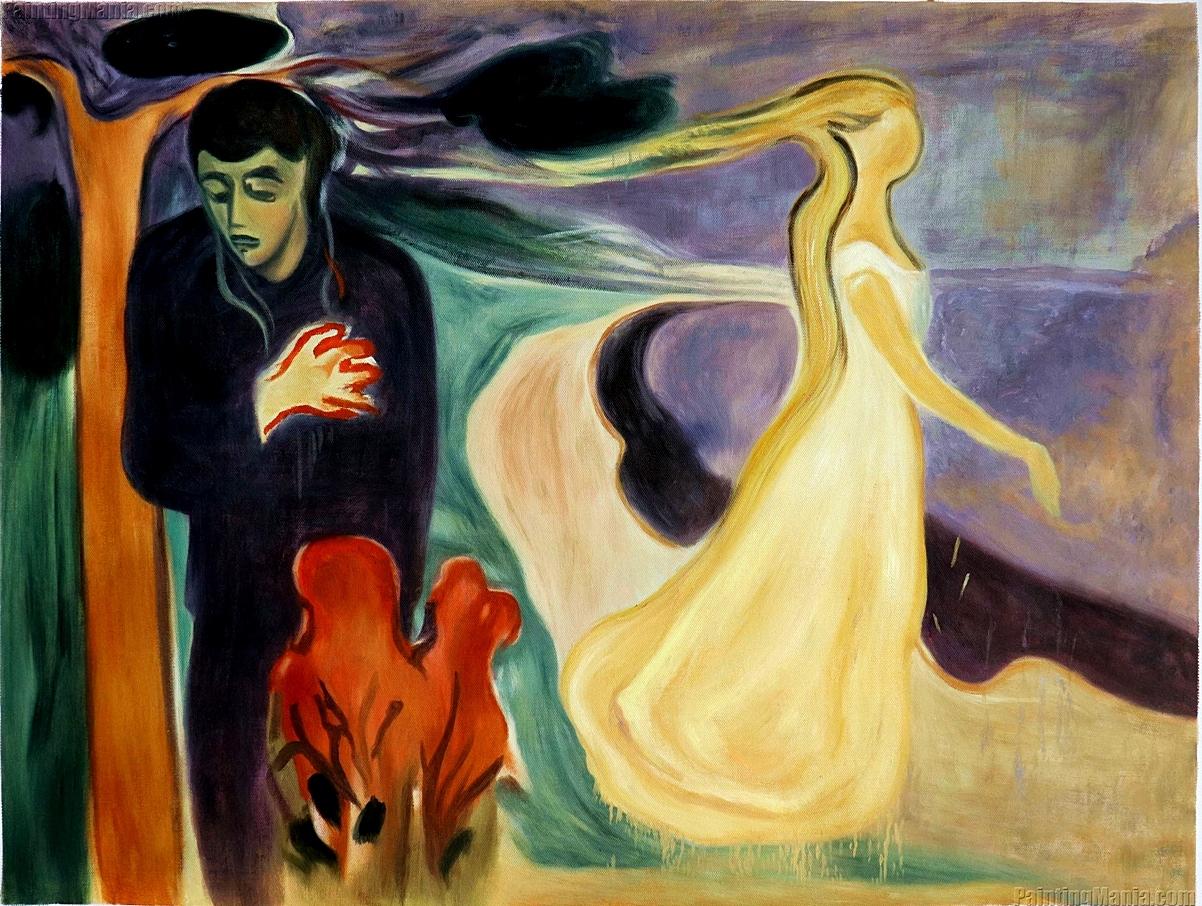Separation, Edvard Munch, 1896 - zorrojacques | ello