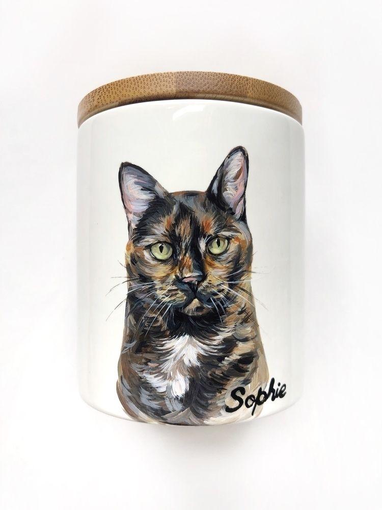 Sophie 🤍🤍🤍 - painting, cat, portrait - alexisannegrantart   ello
