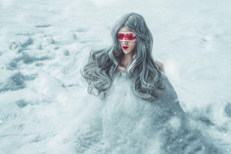"""Eurydice"" – Photographer: Jiam - darkbeautymag | ello"