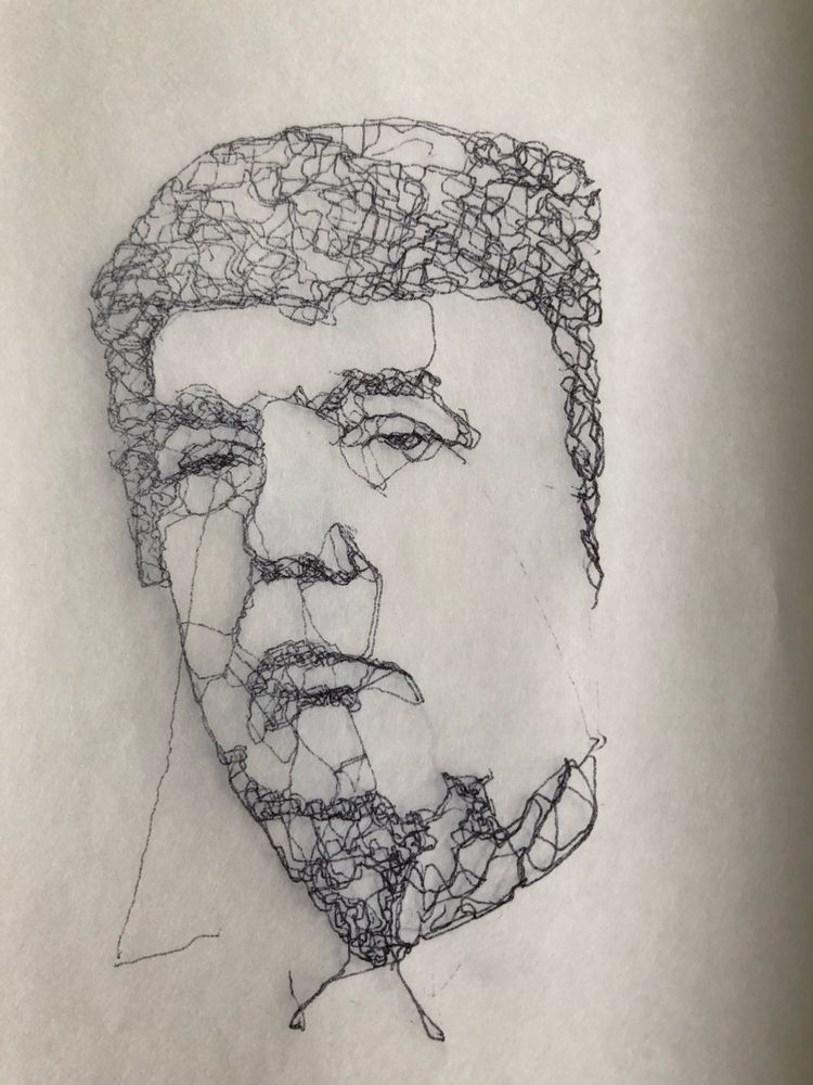 IdiotBot - pencil drawing bot - processing - imhybrid | ello