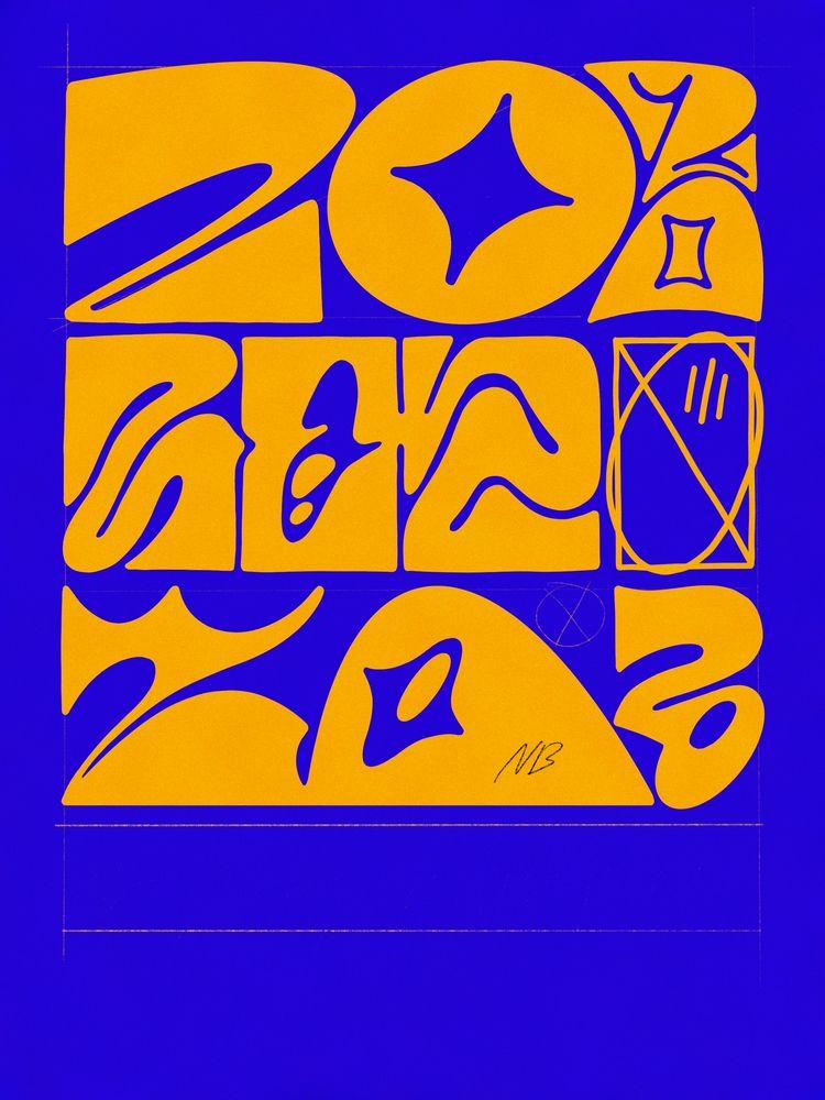 2020 - typography, typedesign, lettering - nik__brovkin   ello