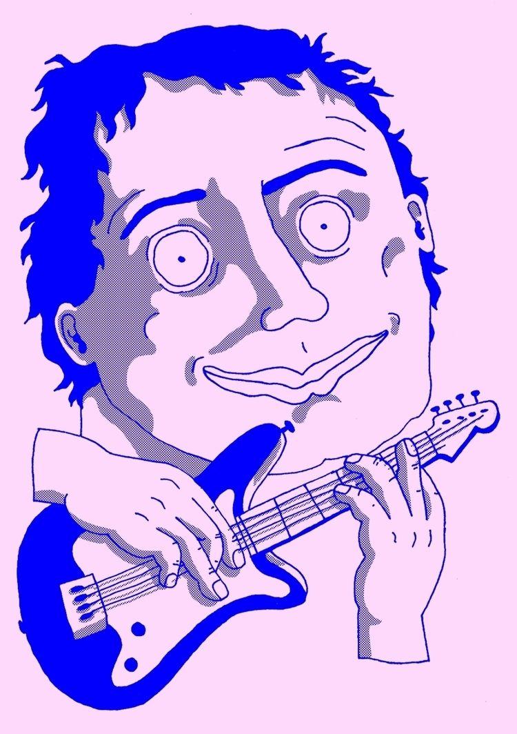 MUSIC MAESTRO  - illustration, zine - katrienvanbreedam | ello
