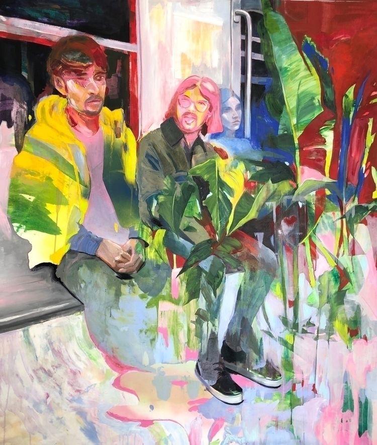 place jungle. painting inspired - helenagarza | ello