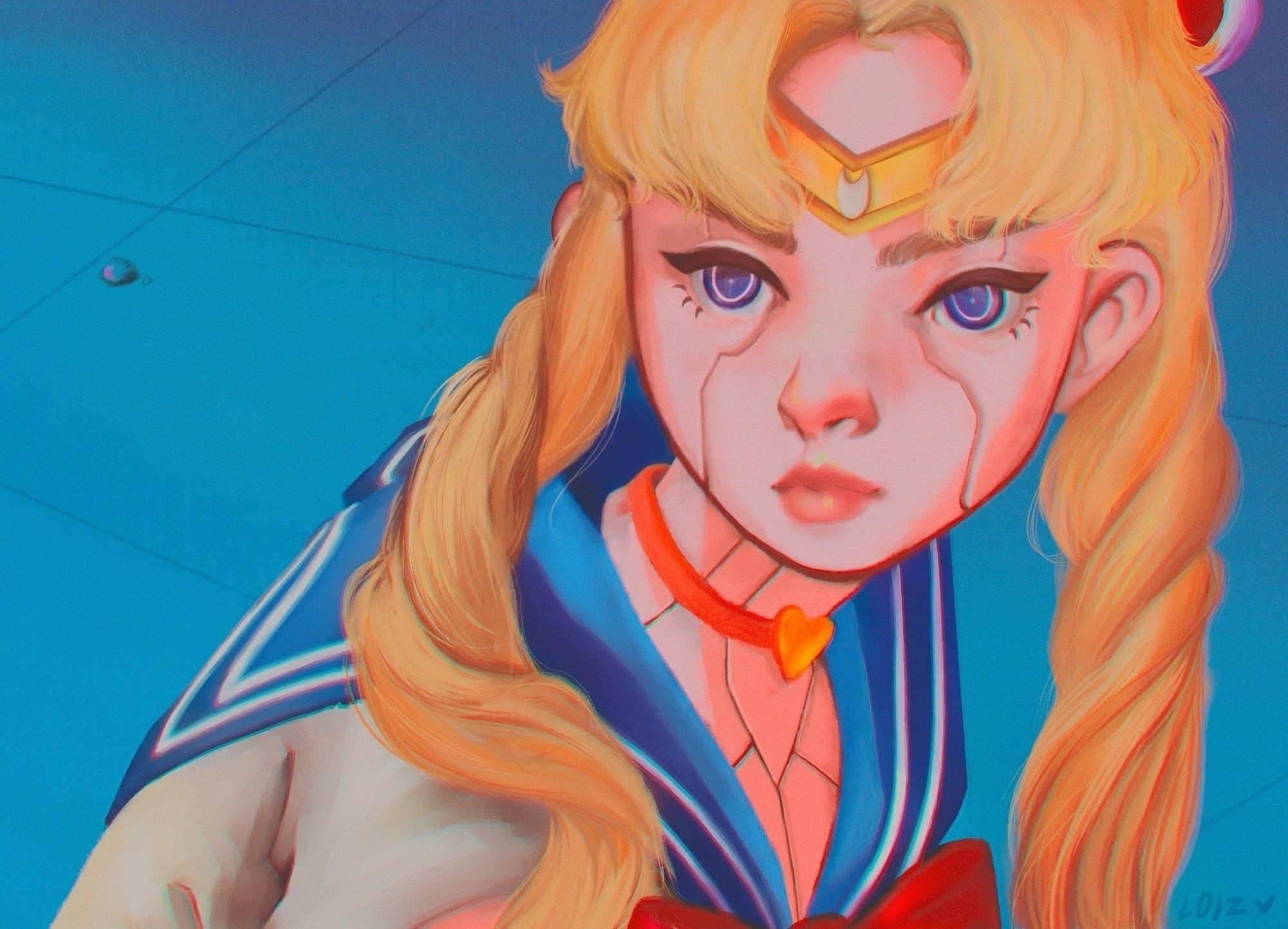 Sailor Moon Redraw! hope speedp - loizart | ello