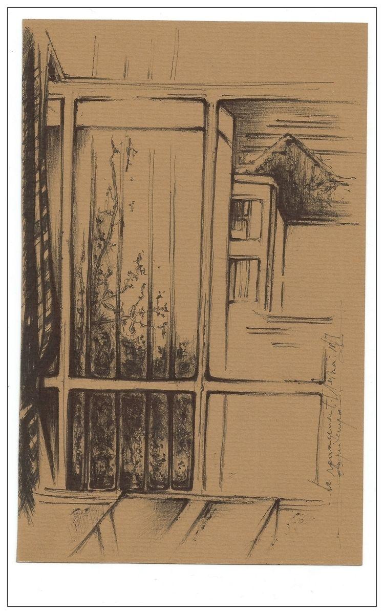 sketchbook, inkdrawing, illustrationofpoetry - karineduval | ello