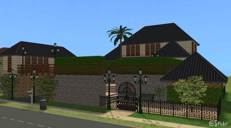 lot built Sims 2 2004. homes TS - snw | ello