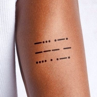 brother sister (morse code) tat - heuryandheury | ello