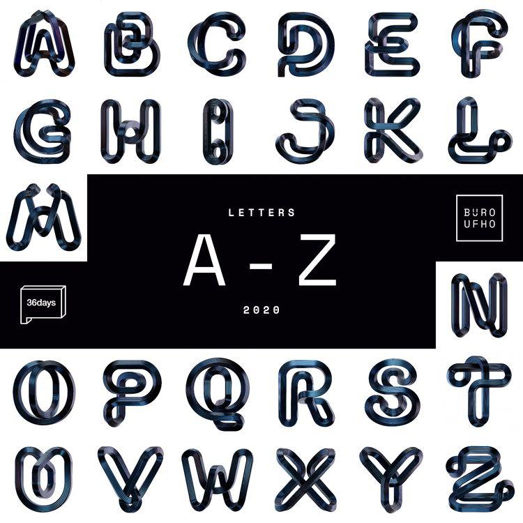 Letters - 36 Days Type 07. BÜRO - ufho | ello