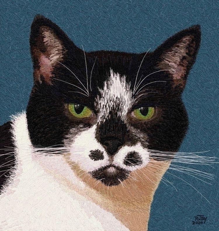 Mister Spottie - Cats - art, digital - rjayslais | ello