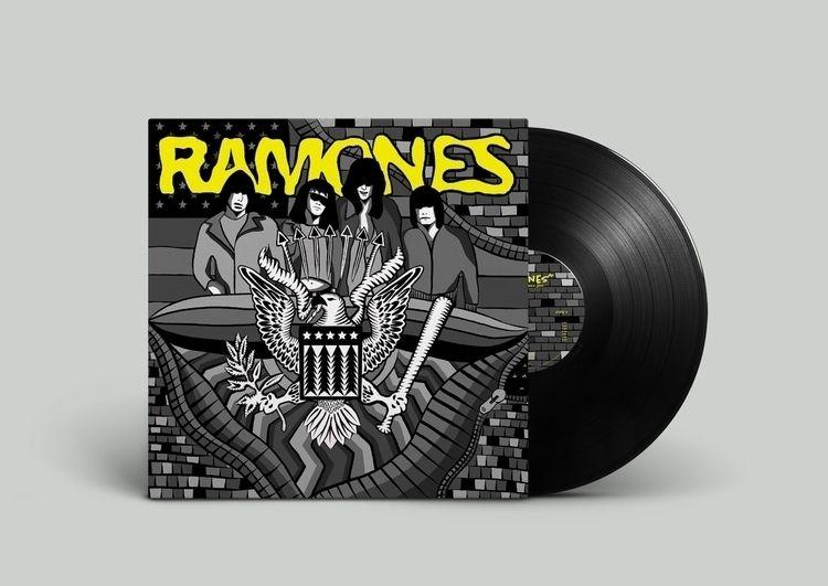 Ramones titled album, good fun  - aidanwogan | ello