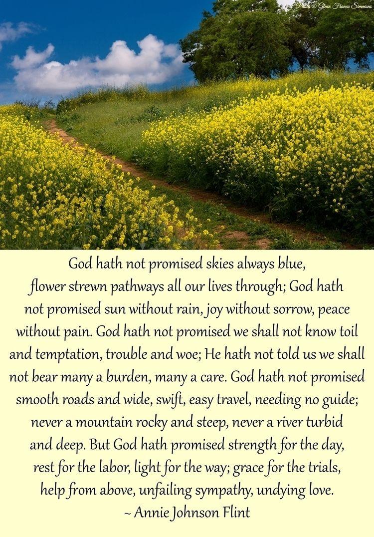 God hath promised skies blue, f - scriptureasart   ello