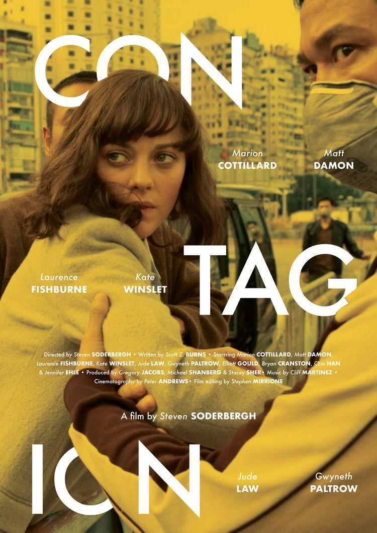 Film poster Contagion (UAE/USA - sarahschrauwen | ello
