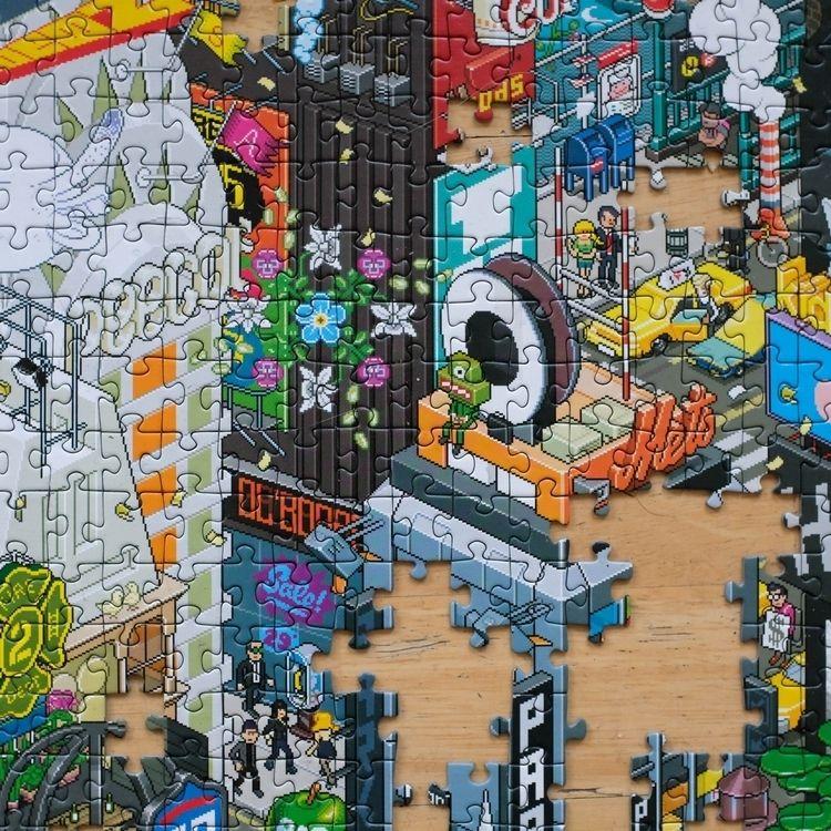York Puzzle - Pixorama - eboy | ello