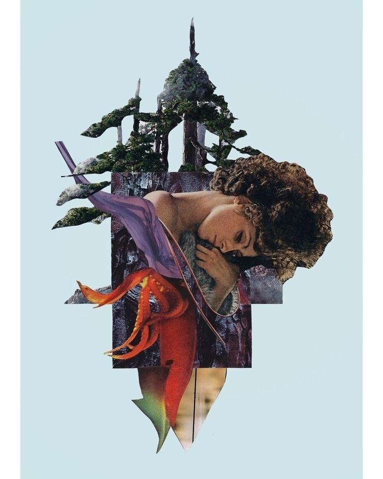"""Mother Days"" cut paper collage - joecastro | ello"