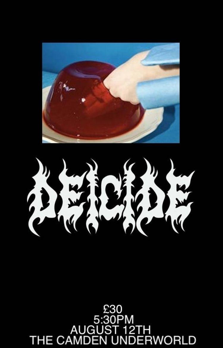 Flyer seminal death metal band  - santawest | ello