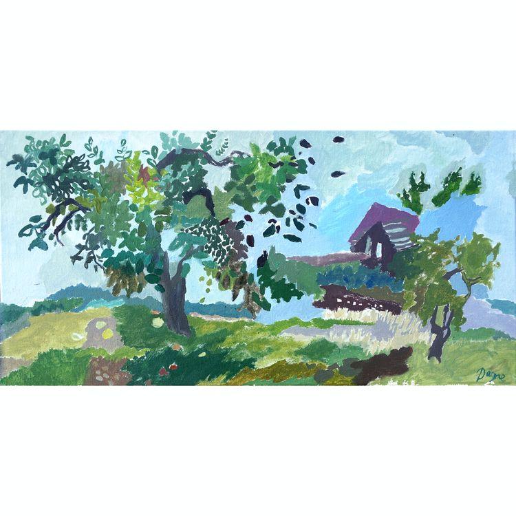 Garden, 2015 - paintingoncanvas - dagnegum | ello