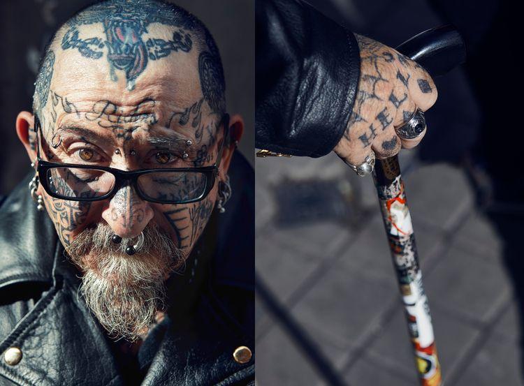 Lea Farren - Men Tattoos Glasse - leafarren   ello