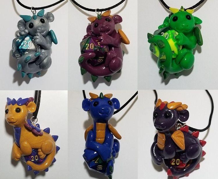 sale - dragon, dragons, claydragon - prismaticpearls | ello