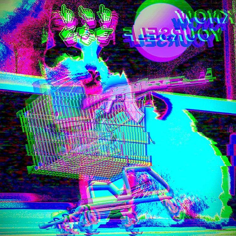 ARTEMIS VAPORWAVE  - glitch, glitchart - brainhurt | ello