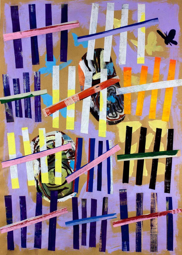 Tally Marks LV Papillons - artcollage - boraistudio | ello