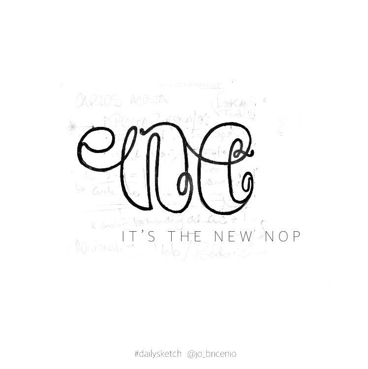 19 / NE Nope. . ~ Fast Daily Ex - lettergraphic | ello