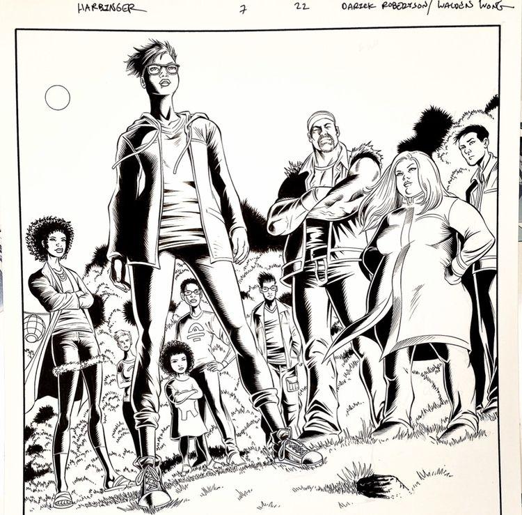 HARBINGER!!! Valiant Comics. Pe - waldenwongart   ello
