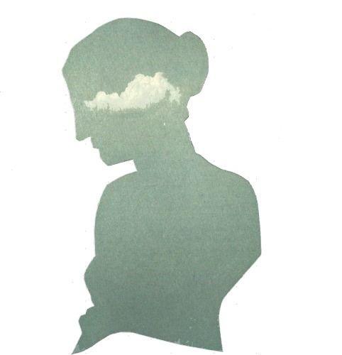 Cloud handmade collage :copyrig - anitaacollages | ello