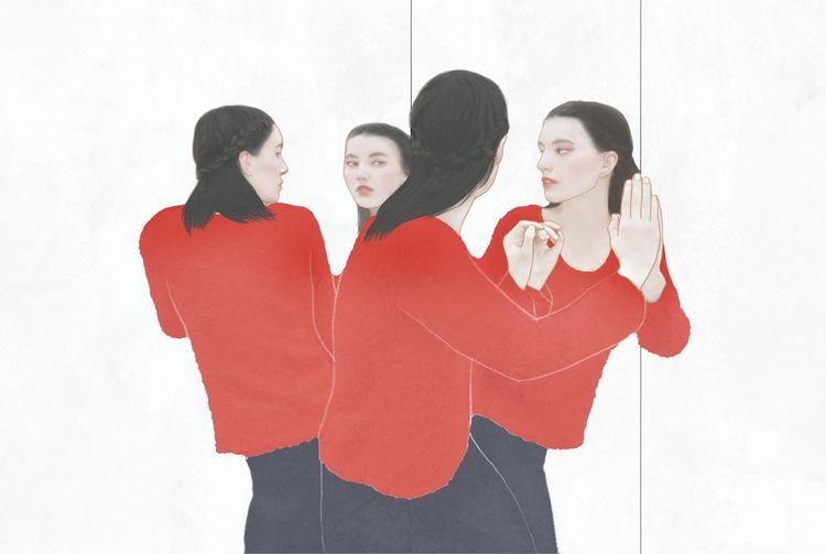 asian, illustration, girl, digital - chertovskaya | ello