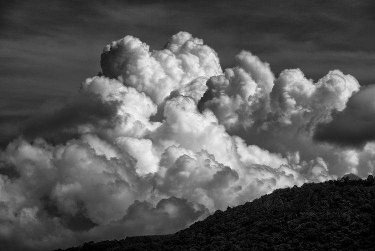 majesty cloud rolling sunset li - christofkessemeier | ello