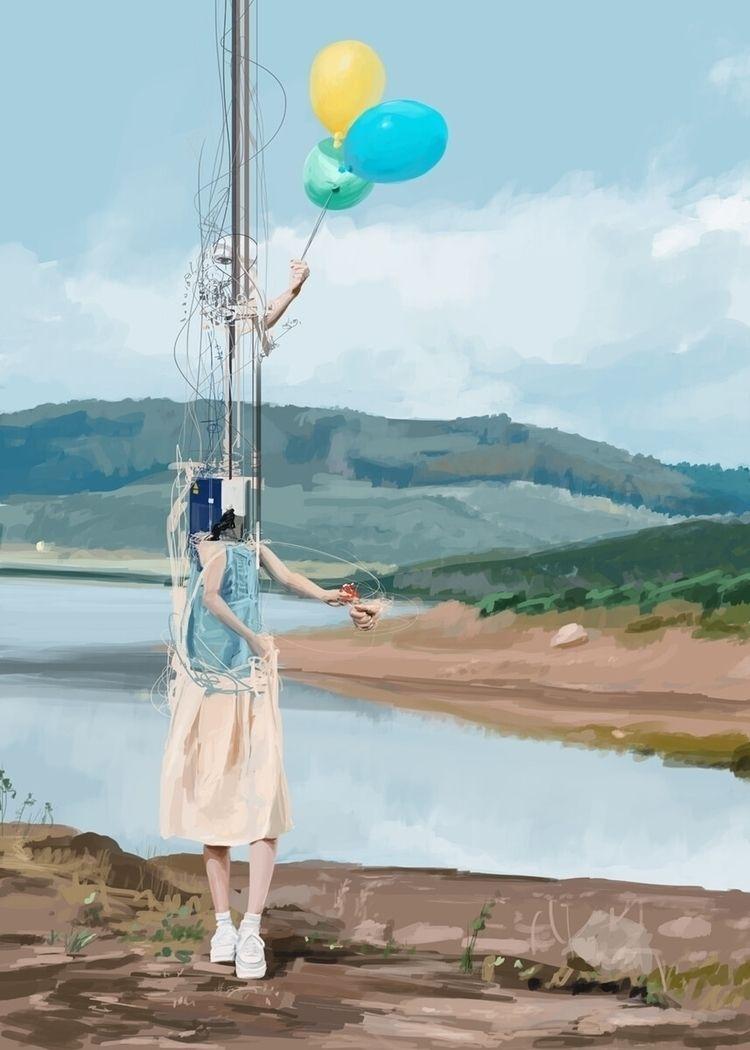 Untitled Digital Painting 2019 - gonzalogolpe | ello